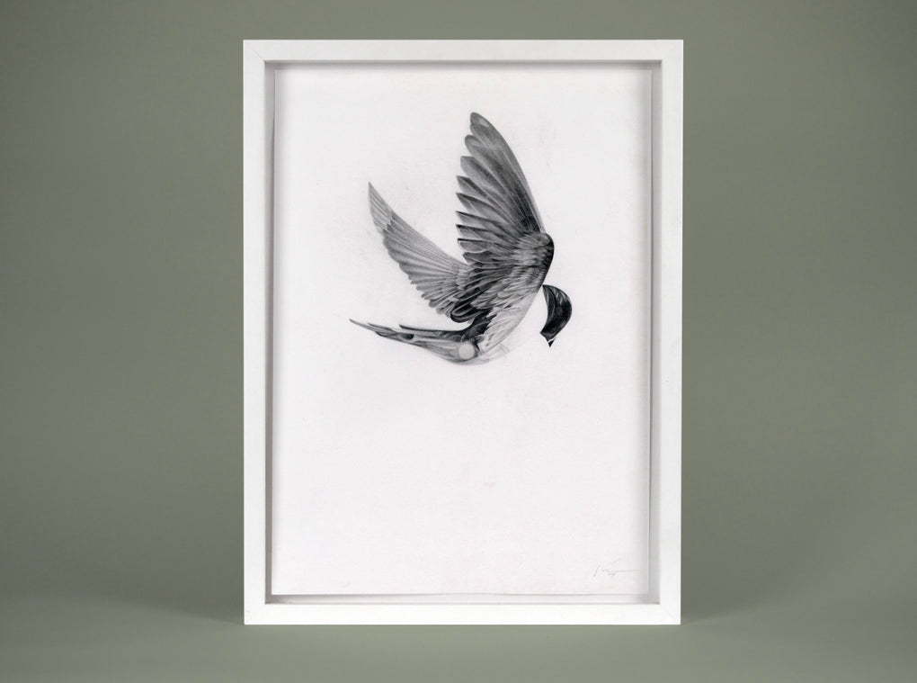 Flight 05 — small original ( Original Art ) screen prints and original art by London artist Von — www.shopvon.com