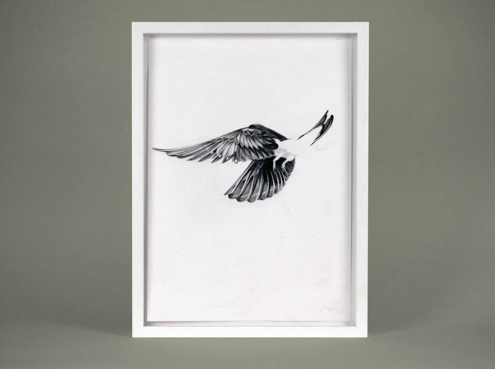 Flight 10 — small original ( Original Art ) screen prints and original art by London artist Von — www.shopvon.com