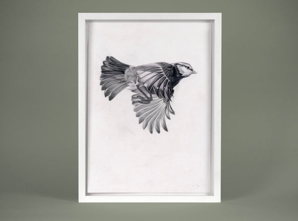 Flight 11 — small original ( Original Art ) screen prints and original art by London artist Von — www.shopvon.com