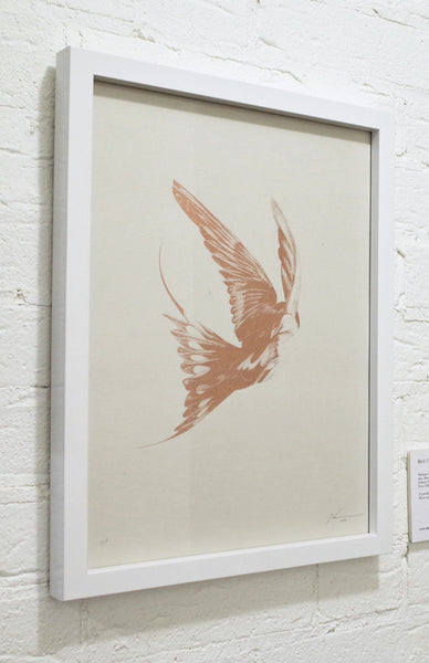 'Bird 17' Copper Screen Print | Artist Proof ( Screen Print ) by London artist Von — www.shopvon.com