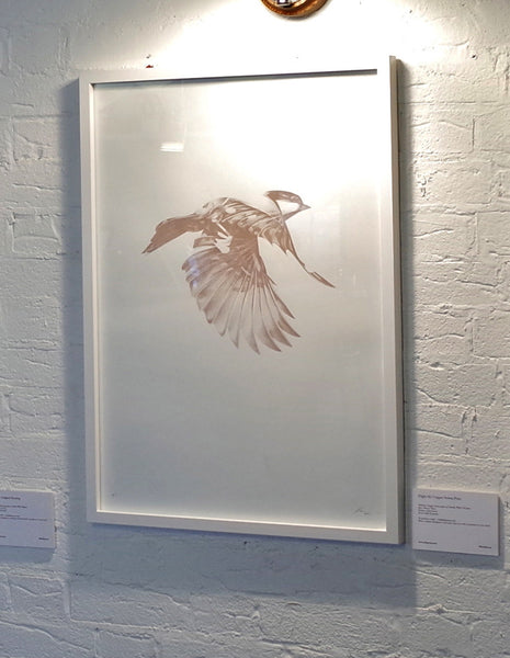 'Flight 02' large Copper Screen Print | Artist Proof   ( Screen Print ) by London based artist Von  — ShopVon |  HelloVon - 2
