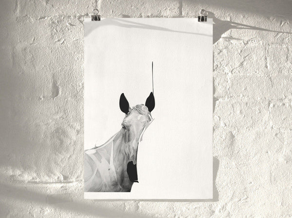 Horse 01 (  ) by London artist Von — www.shopvon.com