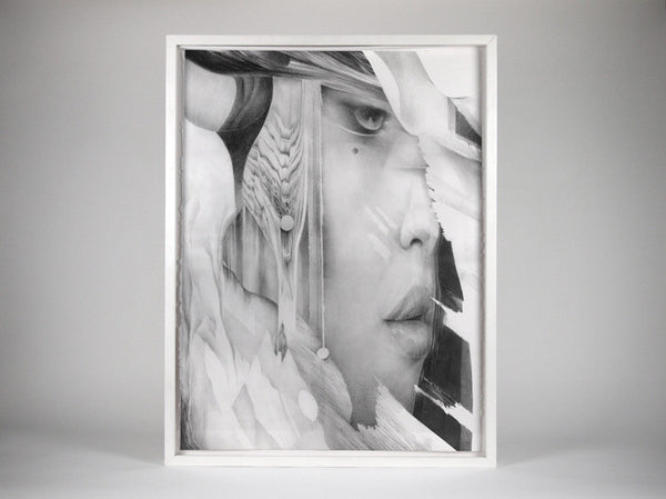 Semblance 04   ( Original Art ) by London based artist Von  — ShopVon |  HelloVon - 1