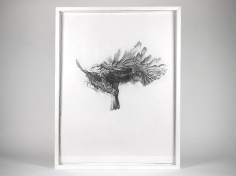 Bird 05  [2009]   ( Original Art ) by London based artist Von  — ShopVon |  HelloVon - 1