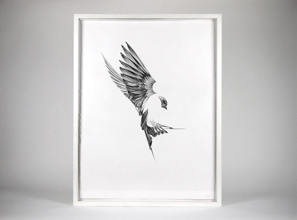 Flight 01  [2013]   ( Original Art ) by London based artist Von  — ShopVon |  HelloVon - 1