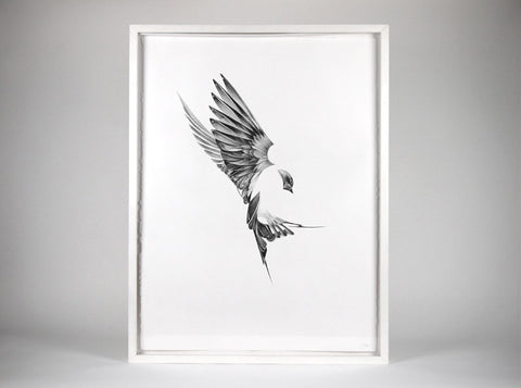Flight 01  [2013] ( Original Art ) by London artist Von — www.shopvon.com