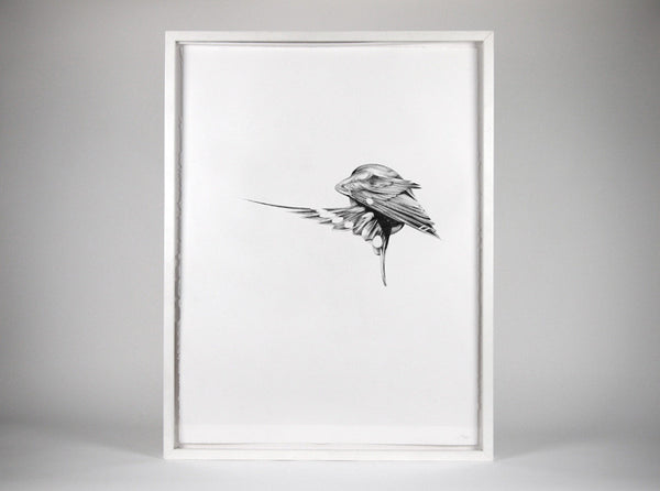 Flight 03  [2013] ( Original Art ) by London artist Von — www.shopvon.com