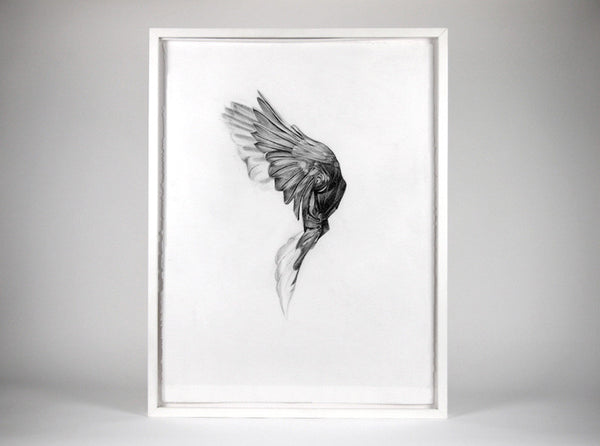 Flight 04  [2013] ( Original Art ) by London artist Von — www.shopvon.com