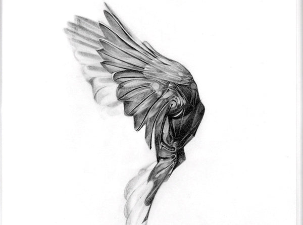 Flight 04  [2013]   ( Original Art ) by London based artist Von  — ShopVon |  HelloVon - 2