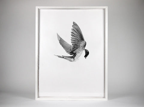 Flight 05  [2013]   ( Original Art ) by London based artist Von  — ShopVon |  HelloVon - 1
