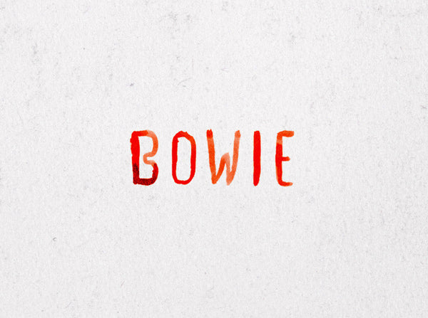 Bowie   ( Giclee Print ) by London based artist Von  — ShopVon |  HelloVon - 5