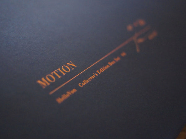 'Motion' Collector's Edition box Set   ( Box Set ) by London based artist Von  — ShopVon |  HelloVon - 3