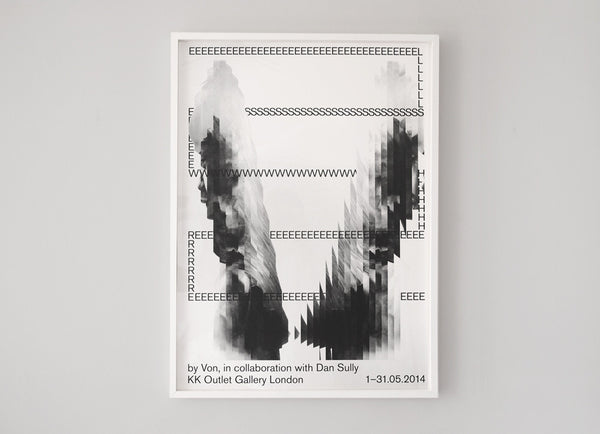 'Elsewhere' Collaborative Exhibition Posters  Hort ( Screen Print ) by London based artist Von  — ShopVon |  HelloVon - 9