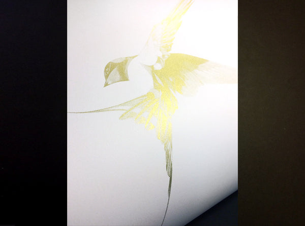 Flight 06 — Gold AP   ( Screen Print ) by London based artist Von  — ShopVon |  HelloVon - 4