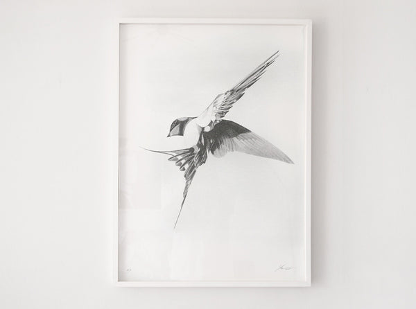 Flight 06 — Silver Edition | Artist Proof (  ) screen prints and original art by London artist Von — www.shopvon.com
