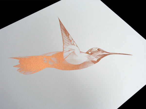 Flight 08 — Copper Edition (  ) by London artist Von — www.shopvon.com
