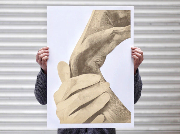Sunday 10:14 |   ( Screen Print ) by London based artist Von  — ShopVon |  HelloVon - 6
