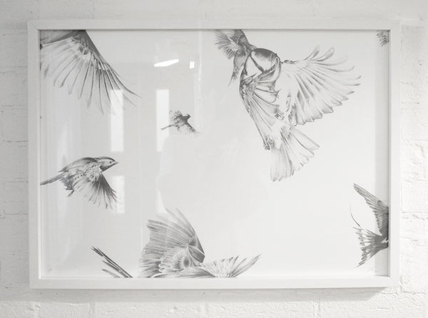 'Migration' Screen Print | Artist Proof ( Screen Print ) by London artist Von — www.shopvon.com