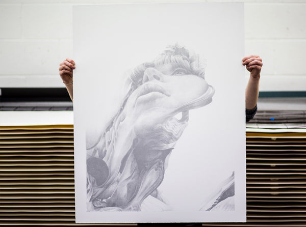 'Semblance 02' Luxury Edition | Artist Proof ( Screen Print ) by London artist Von — www.shopvon.com