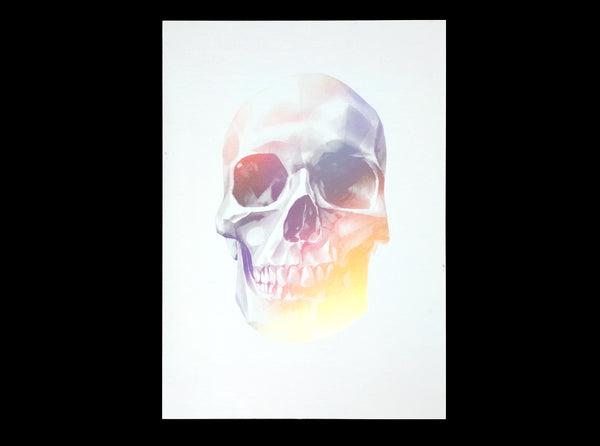 'Skull 03' Holographic Screen Print | Artist Proof   ( Screen print ) by London based artist Von  — ShopVon |  HelloVon - 5