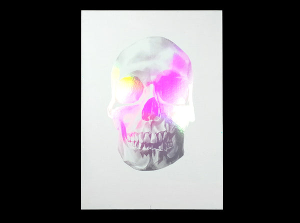'Skull 03' Holographic Screen Print | Artist Proof   ( Screen print ) by London based artist Von  — ShopVon |  HelloVon - 8