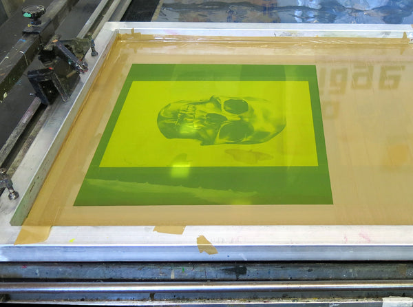 'Skull 03' Holographic Screen Print | Artist Proof   ( Screen print ) by London based artist Von  — ShopVon |  HelloVon - 10