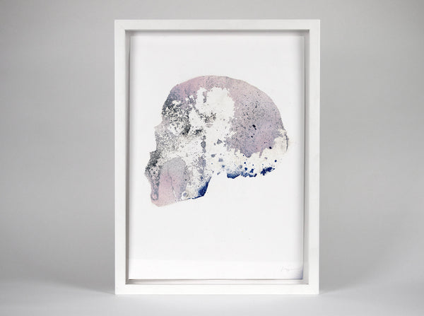 Skull [Reactor] 05 ( Original Art ) by London artist Von — www.shopvon.com