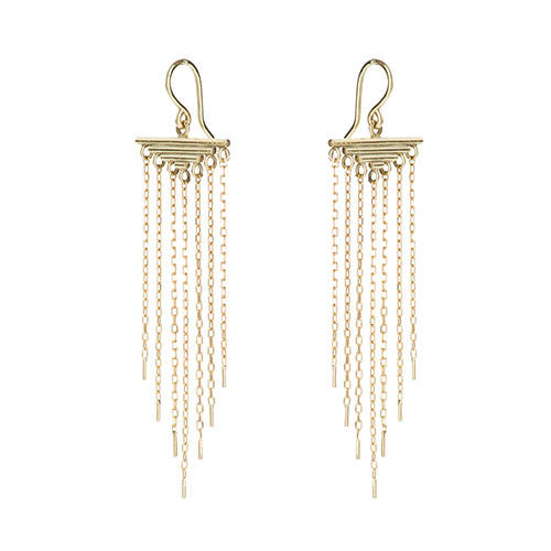 ACROPOLIS GOLD EARRINGS
