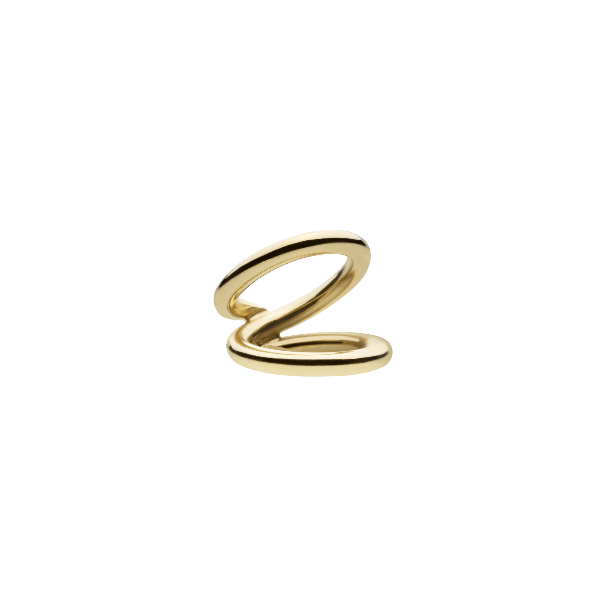 Bulky Viper Gold Ring