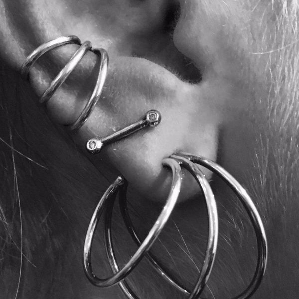 MINI SPINE EAR CUFFS