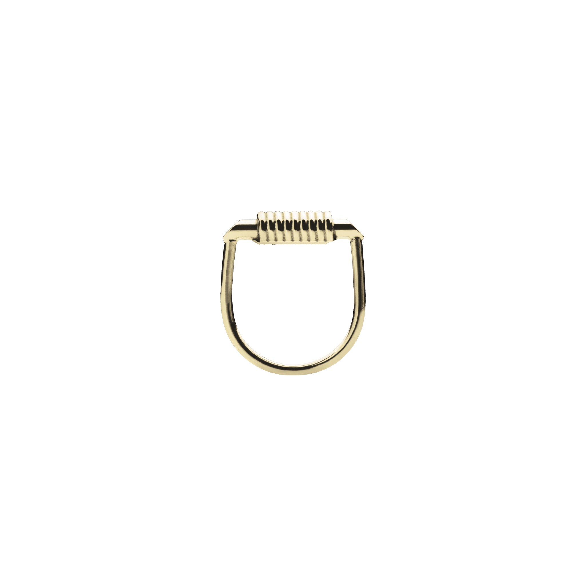 Mini Bullet Gold Ring