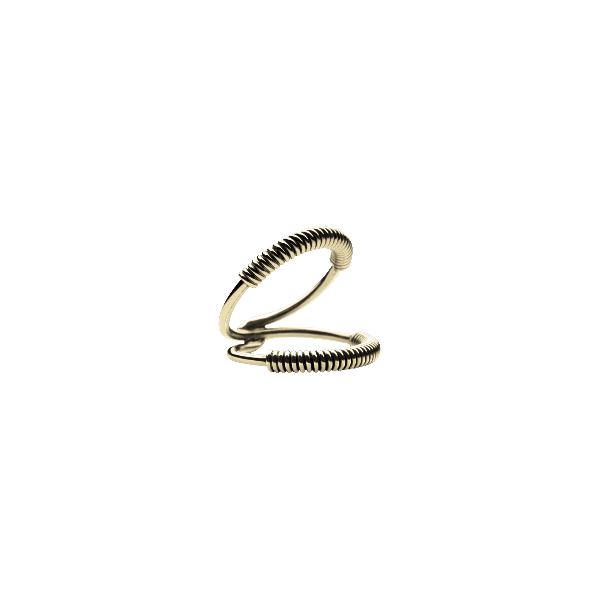 Mini Martini Viper Gold Ring