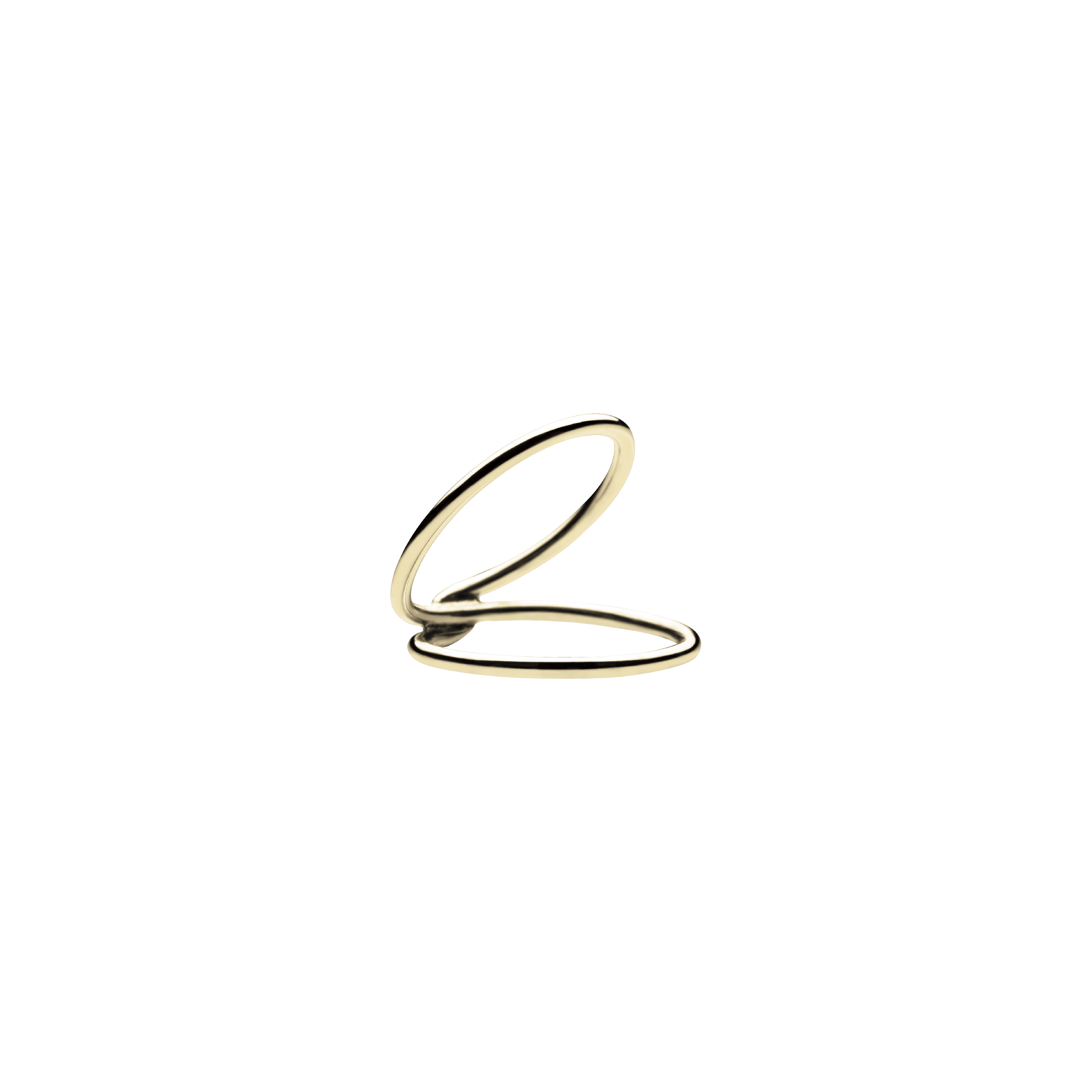 Mini Viper Gold Ring