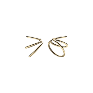 Mini Spine 2.0 Gold Ear Cuffs