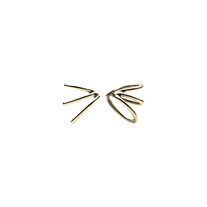 Mini Spine Gold Ear Cuffs