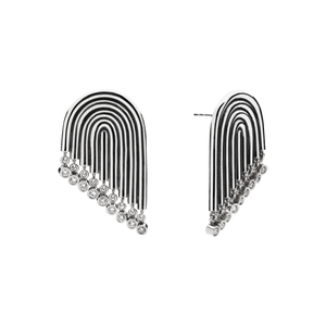 Supersonic Diamond Earrings