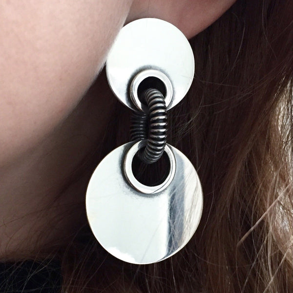 Double Pierced Dolly Earrings