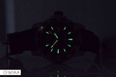 Scuba Master Dive Watch Lume Shot