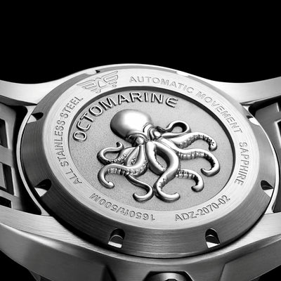 Audaz Octomarine Dive Watch Caseback