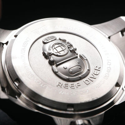 REEF DIVER WATCH CASEBACK
