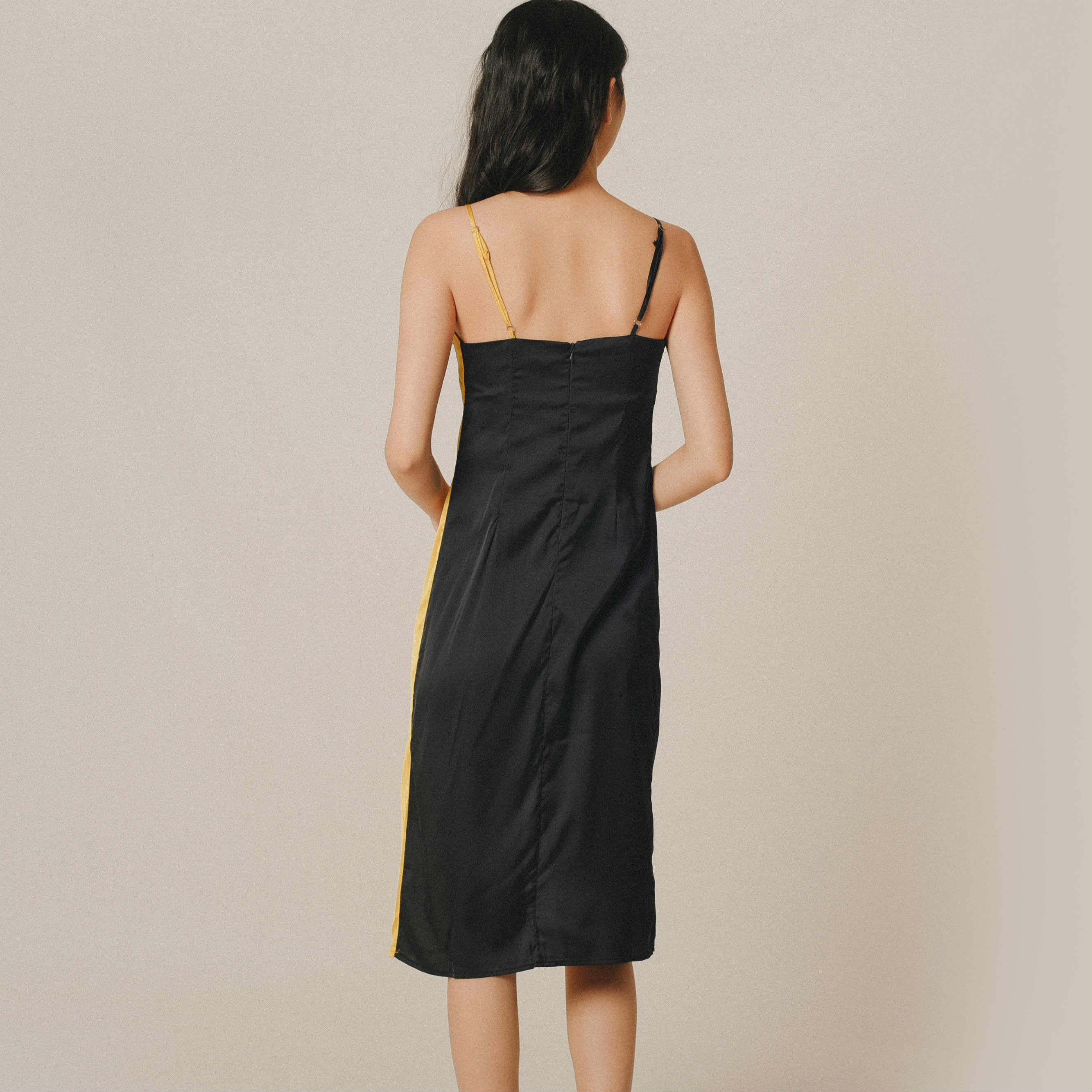 Tammy Duo Silk Dress