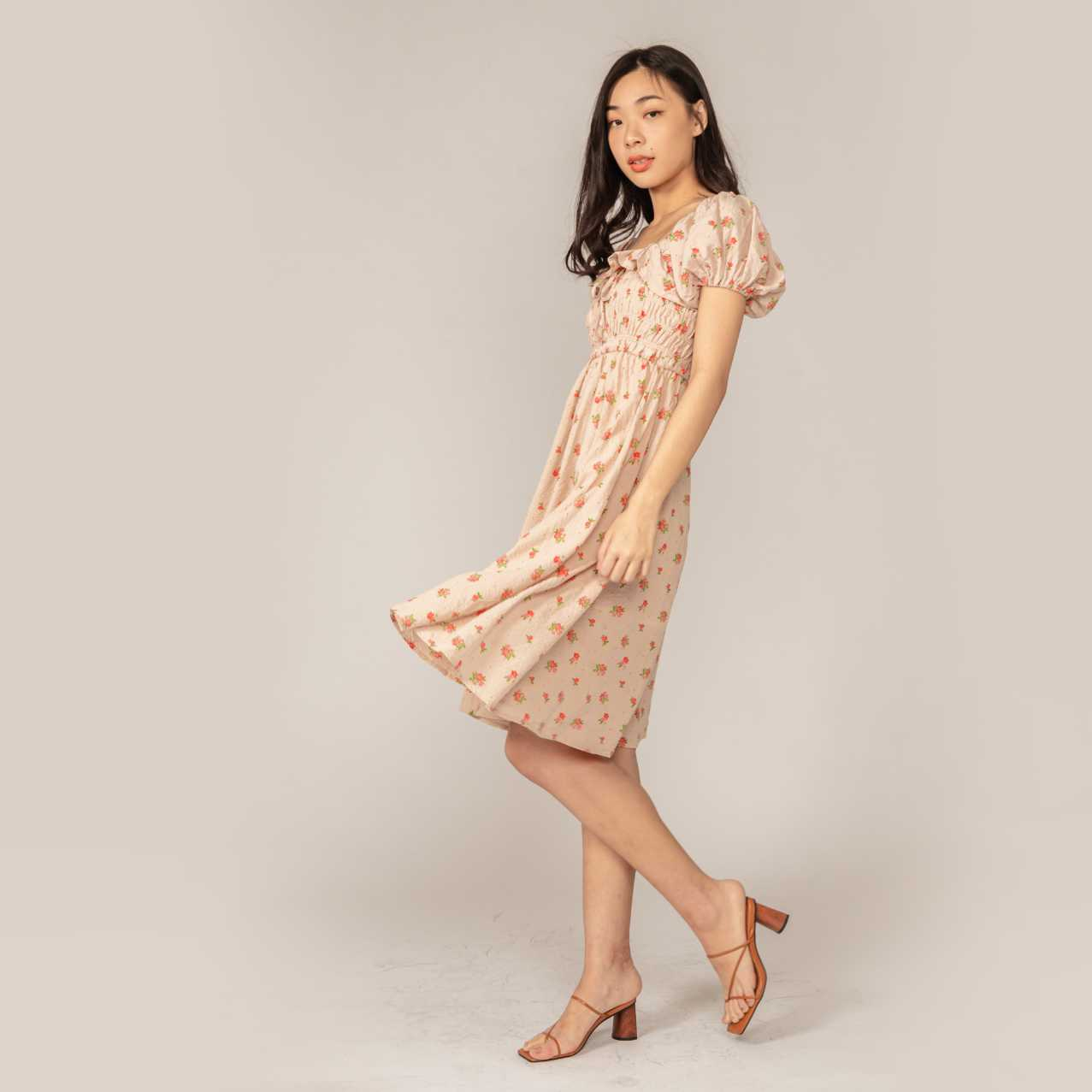 Junie Floral Dress