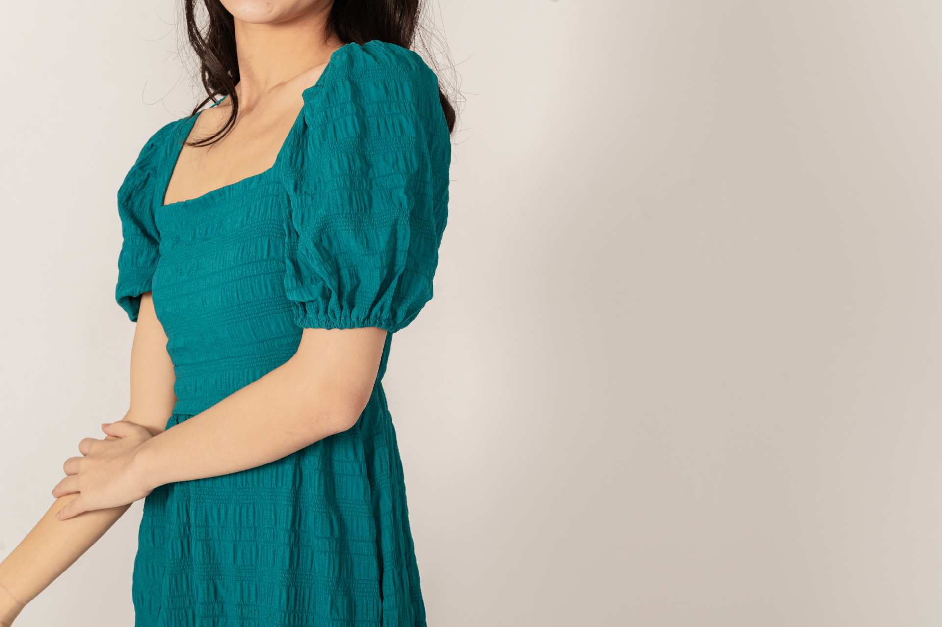 Kassia Teal Dress