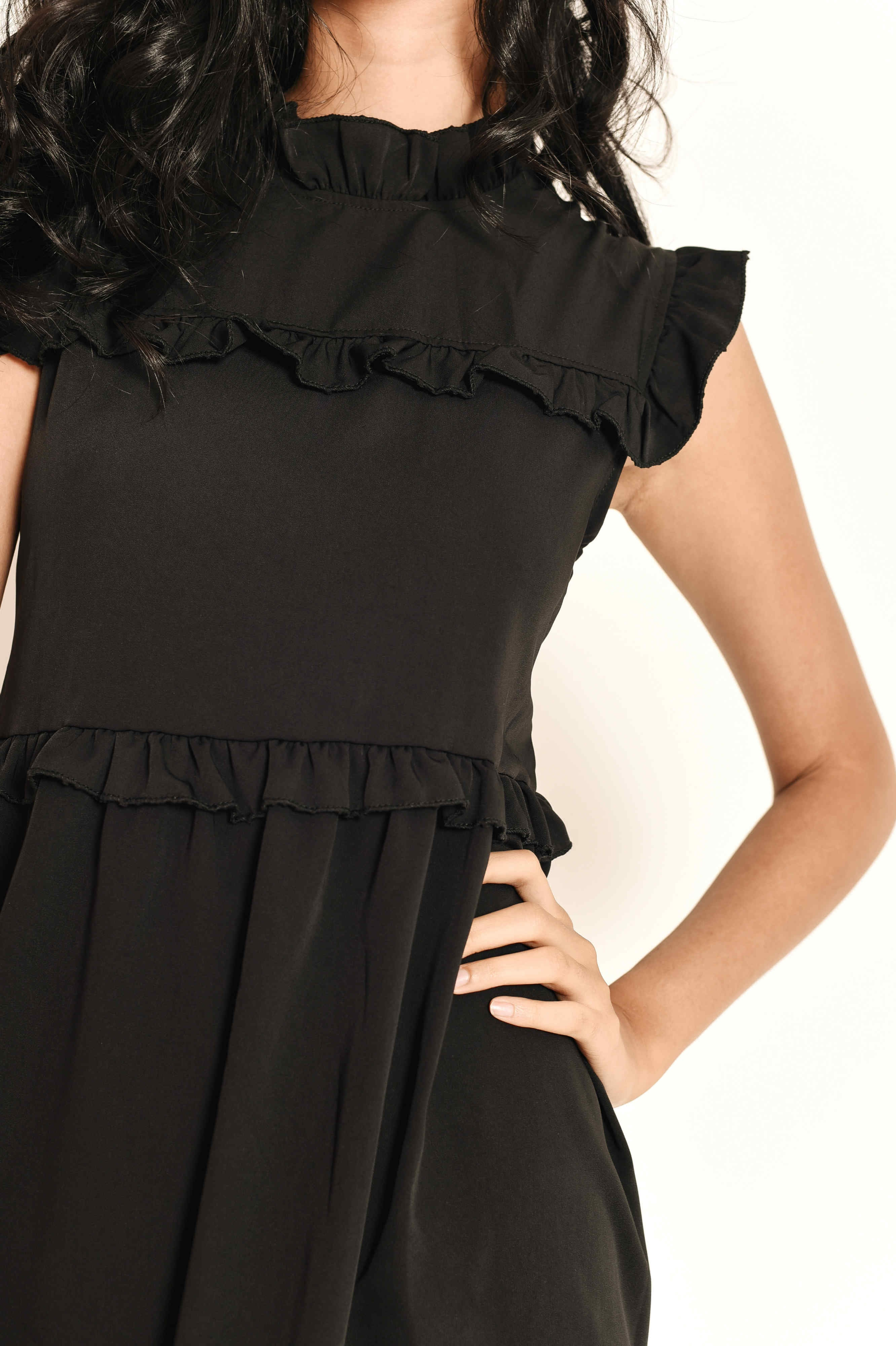 Sandie Ruffle Dress