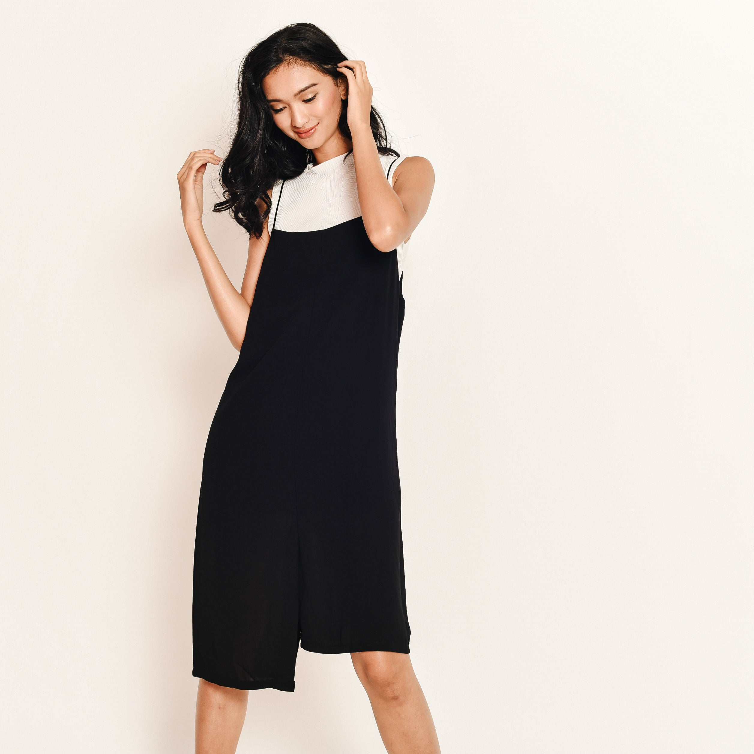 Tina Pinafore Dress