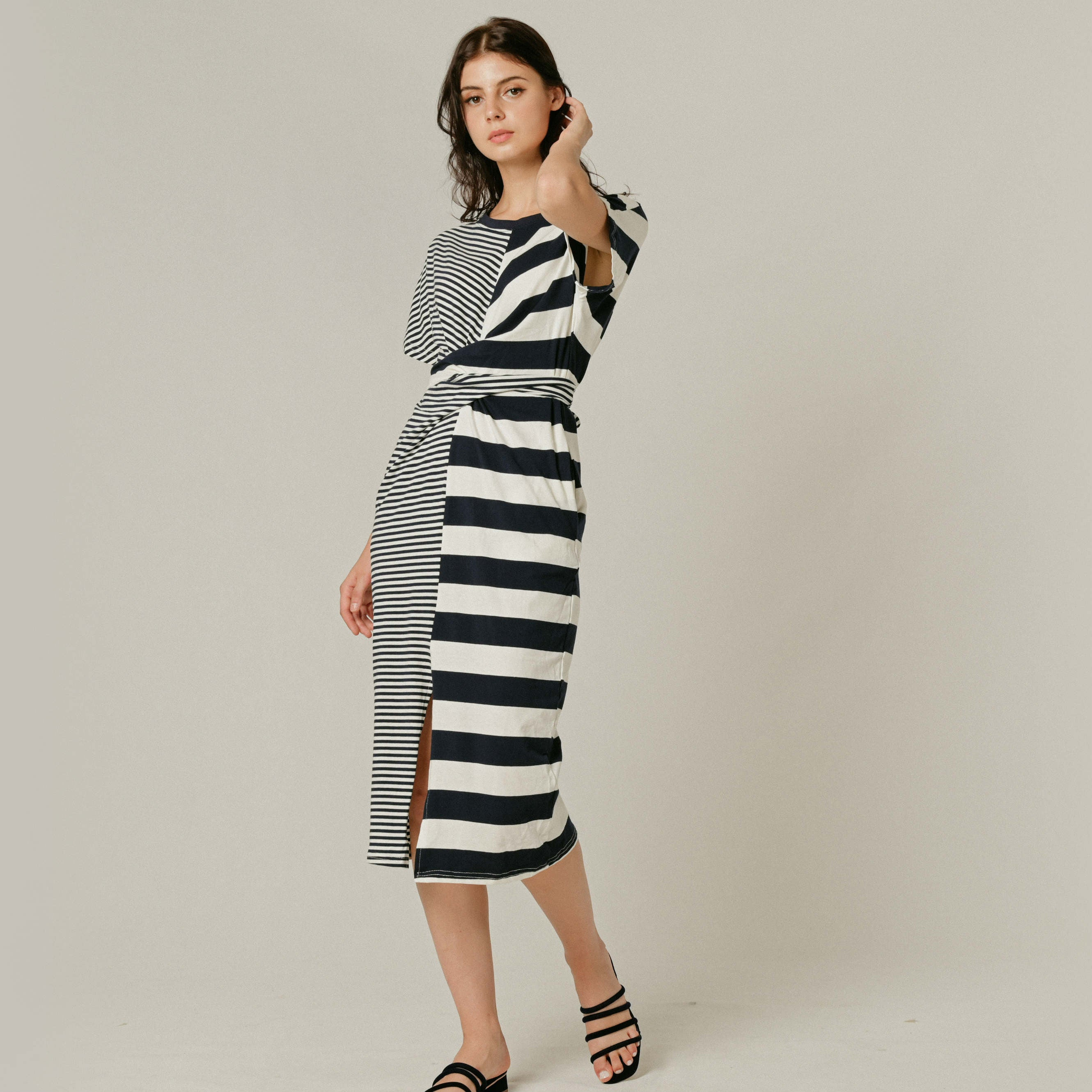 Zuria Striped Dress