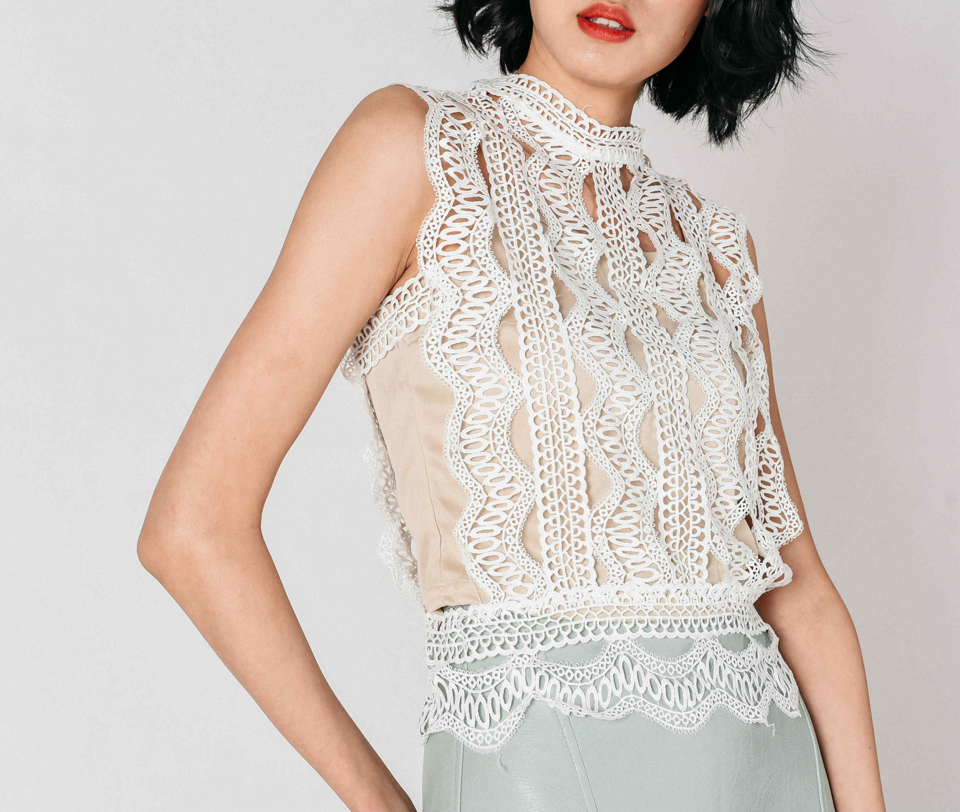 Eurin Lace Top