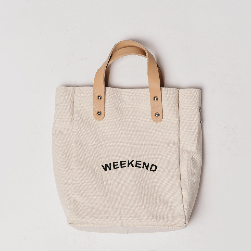Weekend Canvas Bag