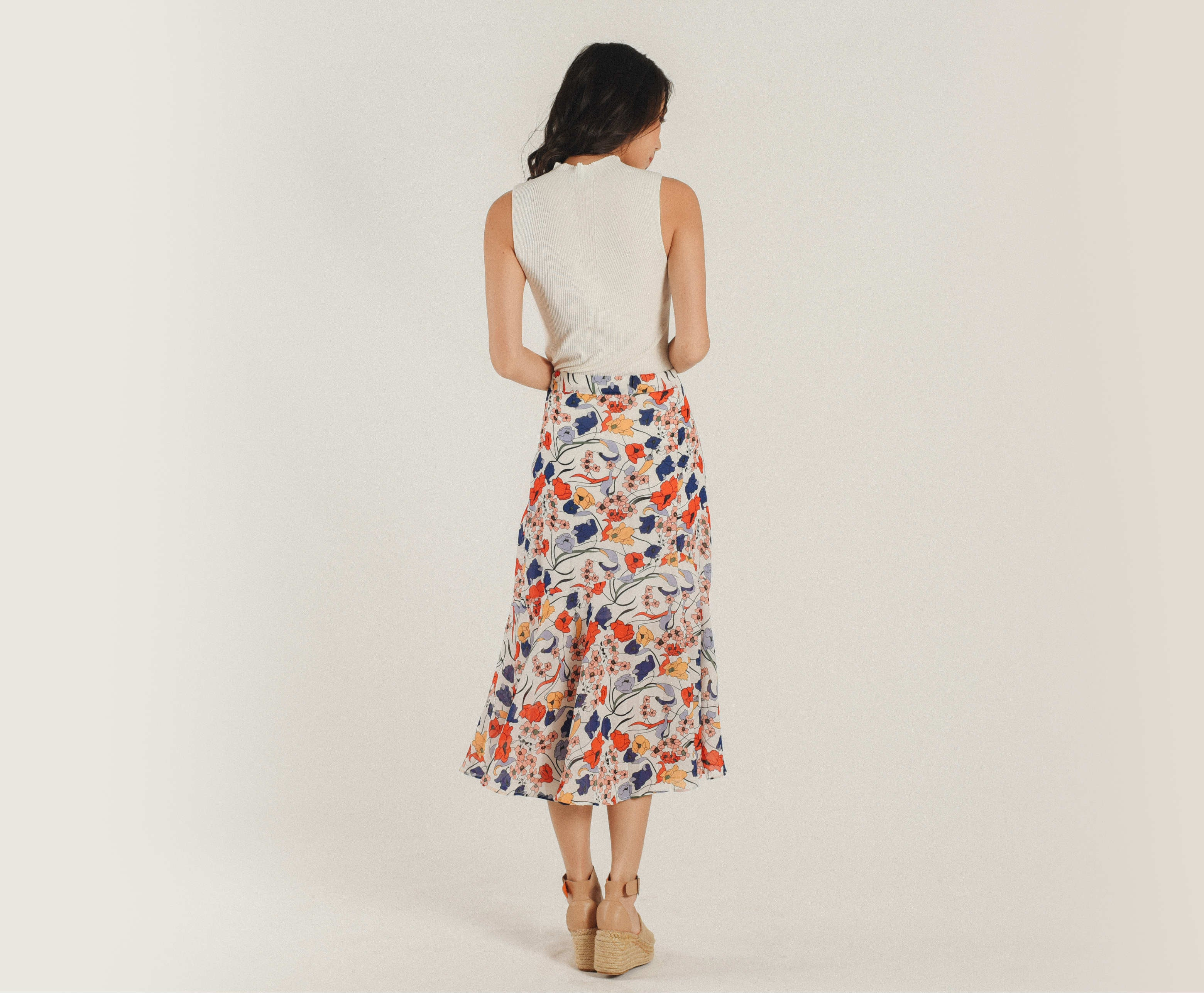 Fione Printed Skirt