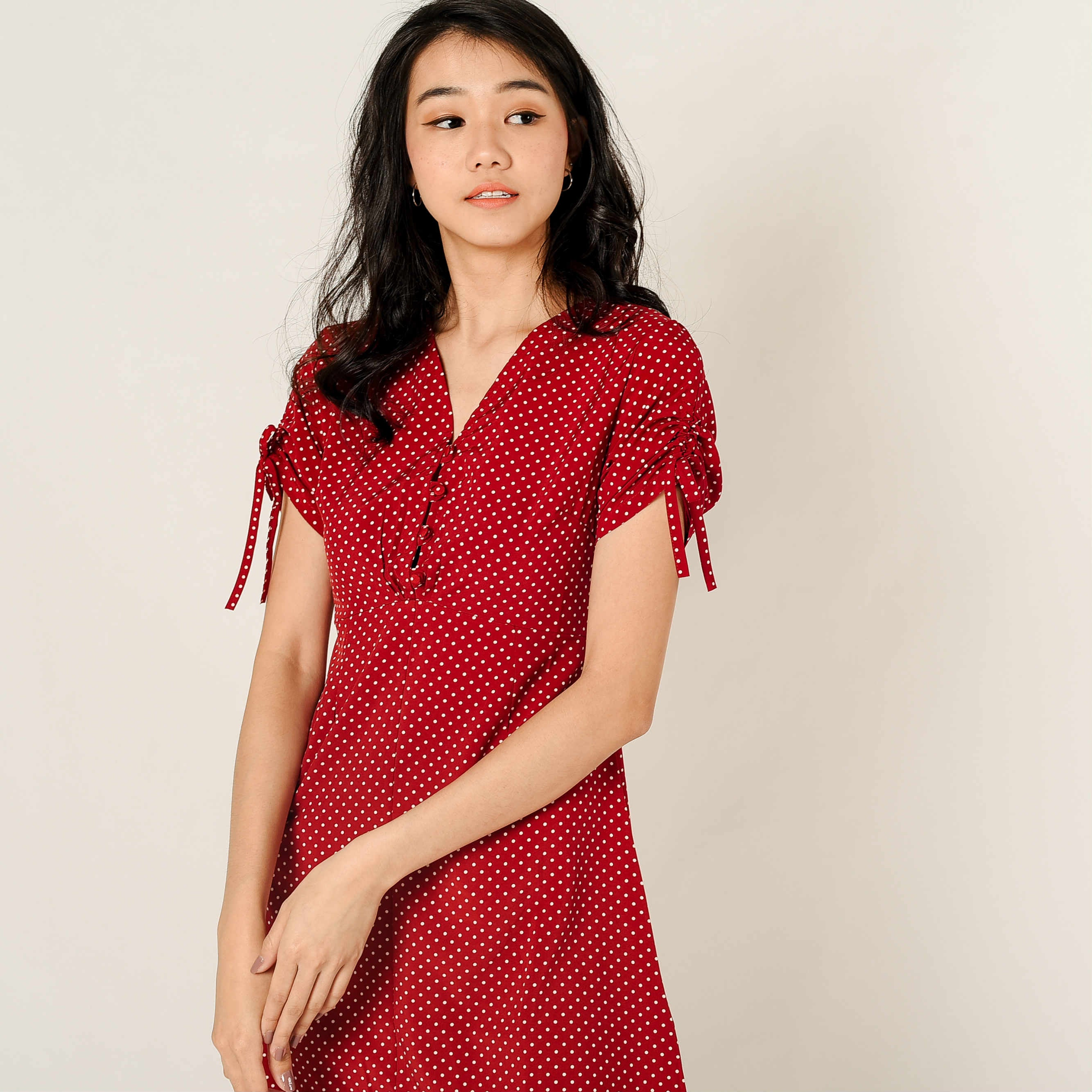 Paula Polka Red Dress